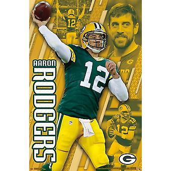 Green Bay Packers - Aaron Rodgers Poster Print