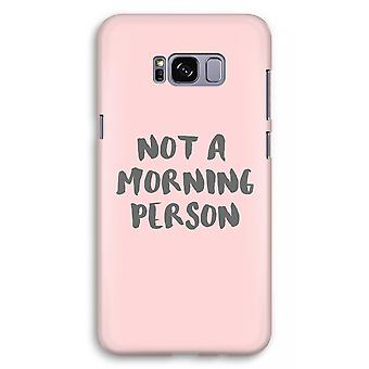 サムスン銀河 S8 に加えて、フル印刷ケース (光沢のある) - 朝