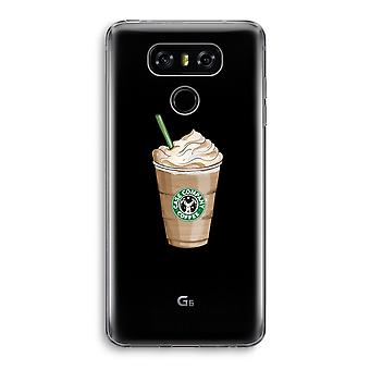 LG G6 Transparent Case - But first coffee