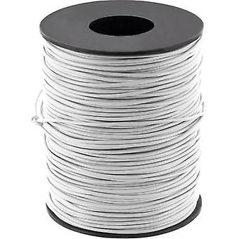 Jumper wire 1 x 0.20 mm² Grey BELI-BECO D 105/100