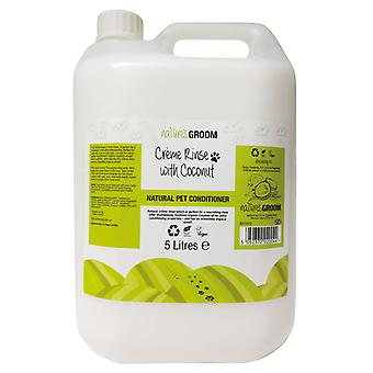 Natures Groom Creme Rinse With Coconut 5L