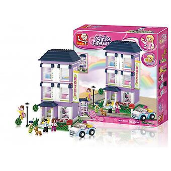 Sluban Building Blocks Girls Dream Serie Hotel