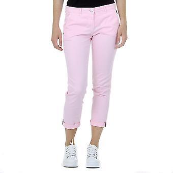 Andrew Charles Womens Pants Pink Penda
