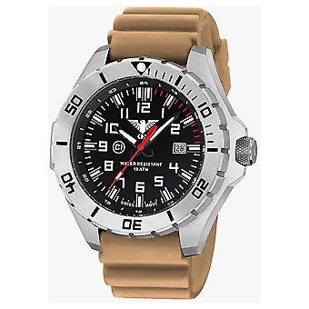 KHS watches mens watch steel KHS country leader. LANS. DT