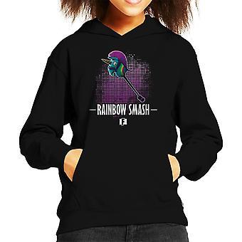 Camiseta de encapuchados Fortnite Rainbow Kid Smash