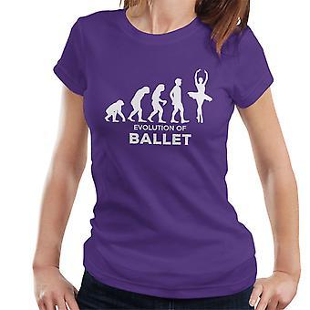 Evolution Of Ballet Women's T-Shirt