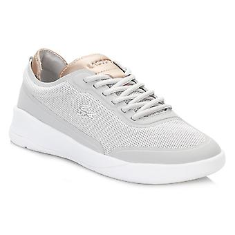 Lacoste Womens Light Grey LT Spirit Elite 117 2 SPW Trainers