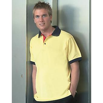 Kustom Kit Contrast Polo Shirts
