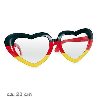 Accesorio de broma de gafas gigantes fan Fútbol Copa Mundial de Alemania Alemania