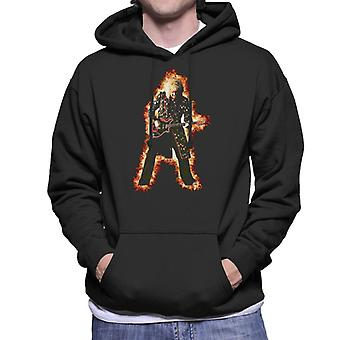 Drottning Brian May TRNSMT Festival Mäns Hooded Sweatshirt
