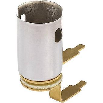 Bulb holder Socket (mini bulbs): BA9s Connection: Solder lug 1 pc(s)