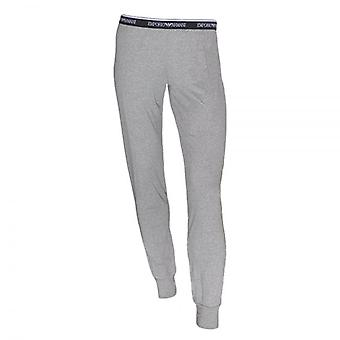 Emporio Armani Women Visibility Stretch Lounge Pant With Cuffs, Grey, XS