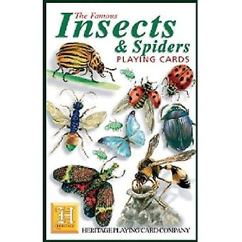 Insects & Spiders Set Of 52 Playing Cards (+ Jokers)