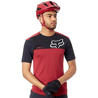 Fox Red-Black 2018 Attack Pro Short Sleeved MTB Jersey