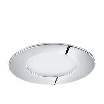 Eglo LED 埋め込み式スポット ライト 85 mm クローム 3000 K、Fueva 1