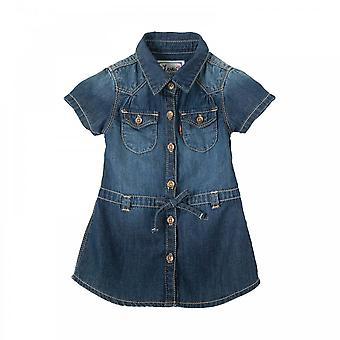 Levis Infants Waist Tie Denim Dress (Navy)