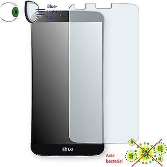 LG KS1301 G Flex display protector - Disagu ClearScreen protector (deliberately smaller than the display, as this is arched)