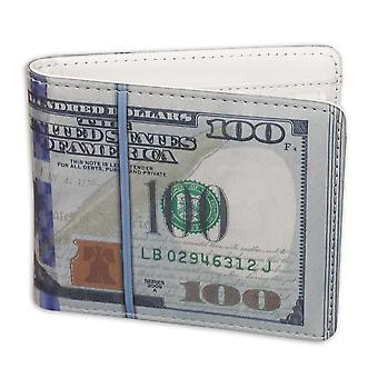 Dollar bill portemonnee nieuwe ontwerp, gemaakt van kunstleer.