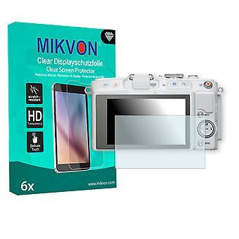 Olympus PEN E-PL5 Screen Protector - Mikvon Clear (Retail Package with accessories)