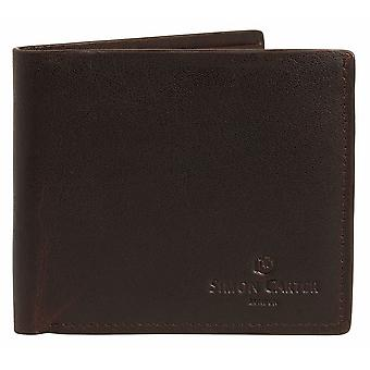Simon Carter Slim Jeans Wallet - Brown