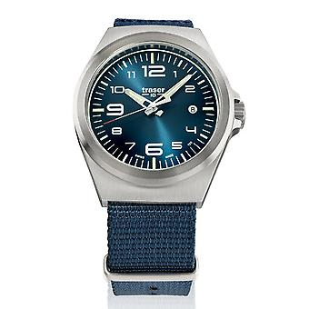 Traser H3 watch P59 essential M blue 108216