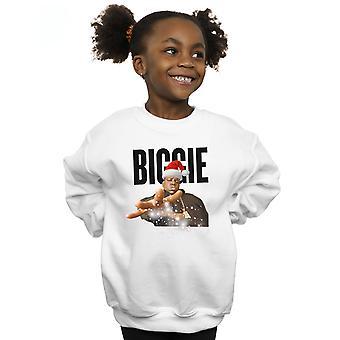 Notorious BIG Girls Biggie Christmas Hat Sweatshirt