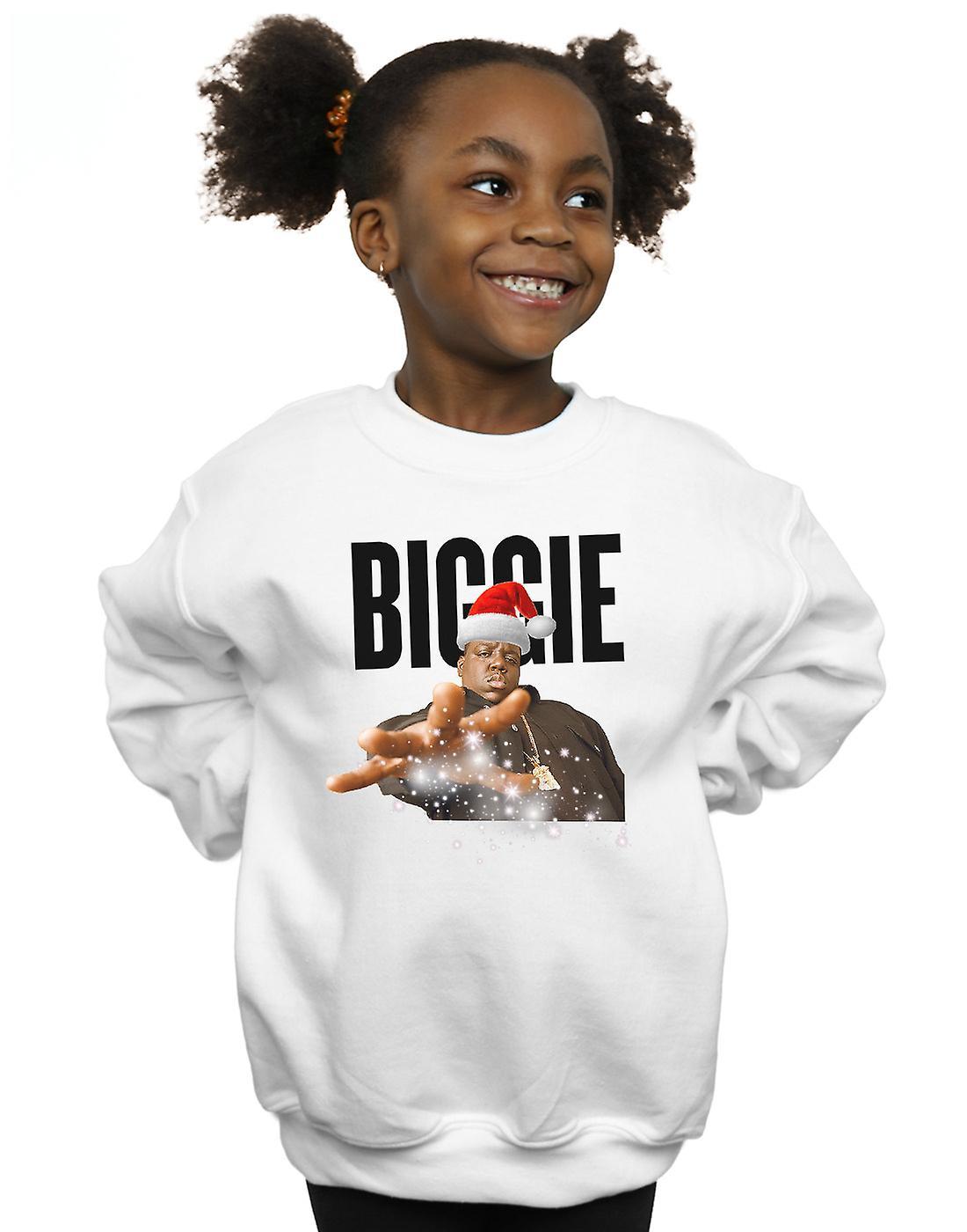 Notorious BIG Girls Biggie Noël chapeau Sweatshirt
