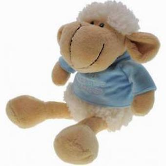 My little sheep blue t-shirt 17 cm