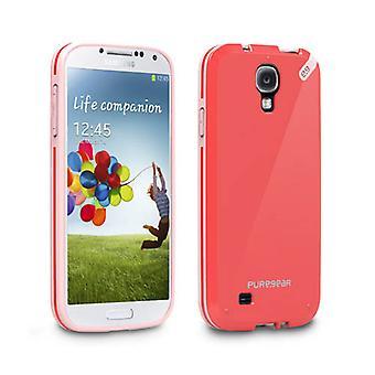 PureGear Slim Shell Case for Samsung Galaxy S4 (Strawberry Rhubarb)