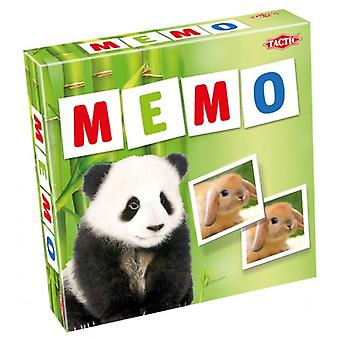 Tactic Animal Babies Memorie spel