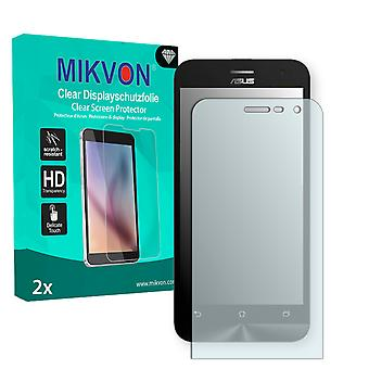 Asus ZenFone 2E Screen Protector - Mikvon Clear (Retail Package with accessories)