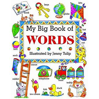 My Big Book of Words by Isabel Clark - Jenny Tulip - 9781861473257 Bo