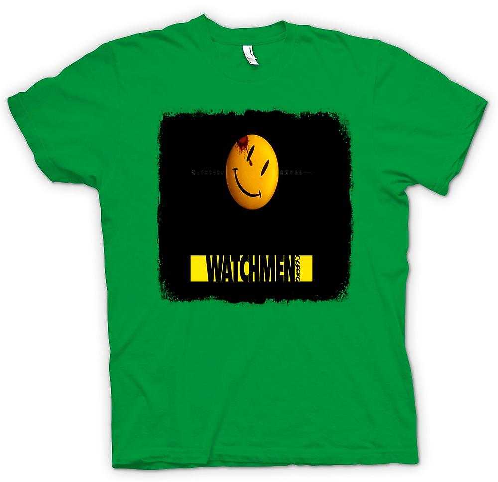 Mens T-shirt - Watchmen - Japanese Movie