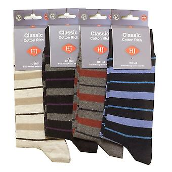 H J Hall Socks HJ4094 Four Colours