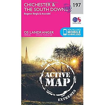 Chichester & the South Downs�(OS Landranger Map)
