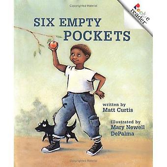 Six empty pockets