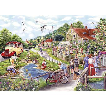 Gibsons Summer by the Stream Jigsaw Puzzle, 1000 piece