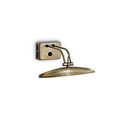 Ideal Lux - Mirror-20 Antique Brass Wall lumière IDL017327