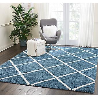 Brisbane 03 Slate niebieski prostokąt dywany zwykłym/prawie zwykły dywany