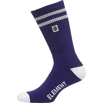 Element Athletic Socks ~ Clearsight violet