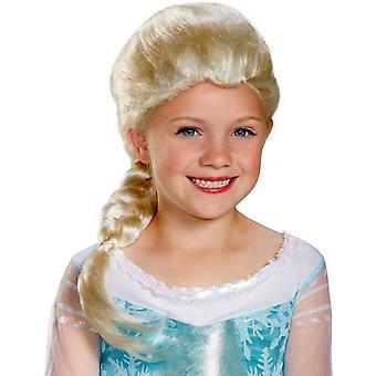 Mrożone Elsa Wig dla dzieci