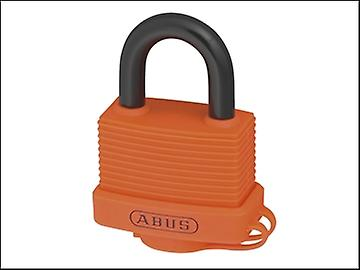 ABUS 70AL/45 45mm Aluminium hänglås Orange 50045
