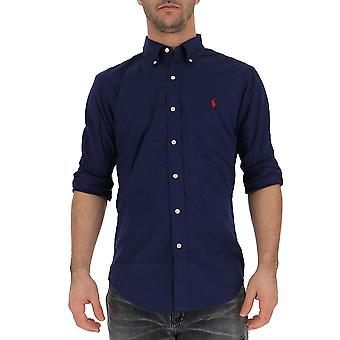 Ralph Lauren Blue Cotton Shirt