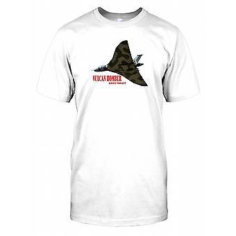 Royal Airforce Vulcan Bomber Poster Herren T Shirt