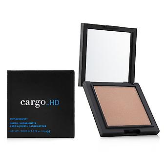 Cargo Hd Picture Perfect Blush/highlighter - # 02 Peach Shimmer - 8g/0.28oz