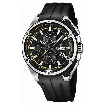 Festina Mens 2015 Chronobike Rubber Strap F16882/7 Watch