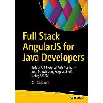 Full Stack AngularJS for Java Developers - Build a Full-Featured Web A