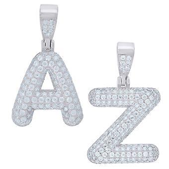 Premium 925 Sterling Silver Letter Pendant Mini