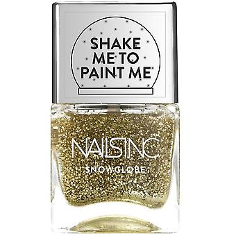 Nails inc Snow Globe Nail Polish - New Globe Walk (8035) 14ml