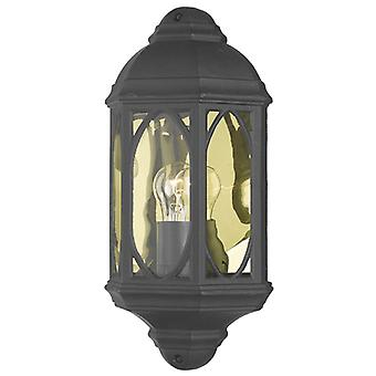 Tenby Wall Light Noir Ip43